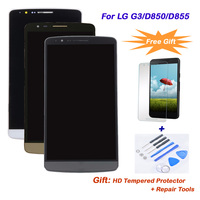 For LG G3 D850 D855 LCD Display Complete With Frame AAA Quality LCD Touch Screen Digitizer