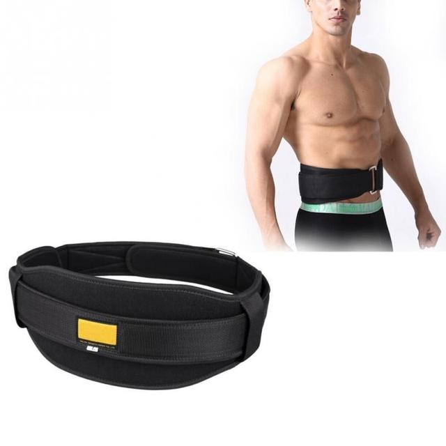 Weight lifting belt pesas gym Fitness Equipment guantes gym Wide Back Support Training Weights Belt