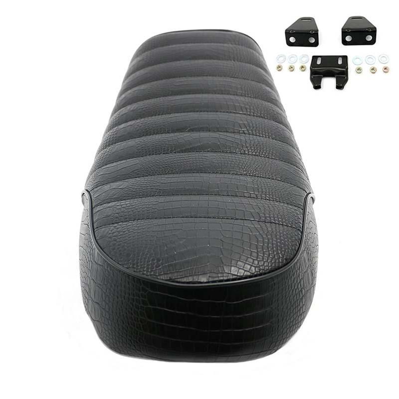 Vintage Hump Seat Cafe Racer Saddle Cushion Pad CG GN CB200 CB350 CB400SS CB500 CB750 SR400 SR500 XJ XS Motorbike Retro Seat