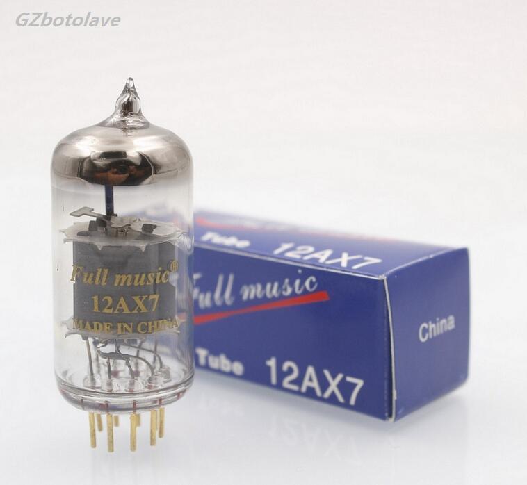 1 paire assortie hig-end Fullmusic 12AX7 ECC83 amplificateur sous vide Tube préampli bricolage Vintage guitare ampli tubes