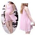 Мода беременным фотографии реквизит Chiffion одежда для беременных женские платья комплект одежды 2015 -- MKB007 PT15