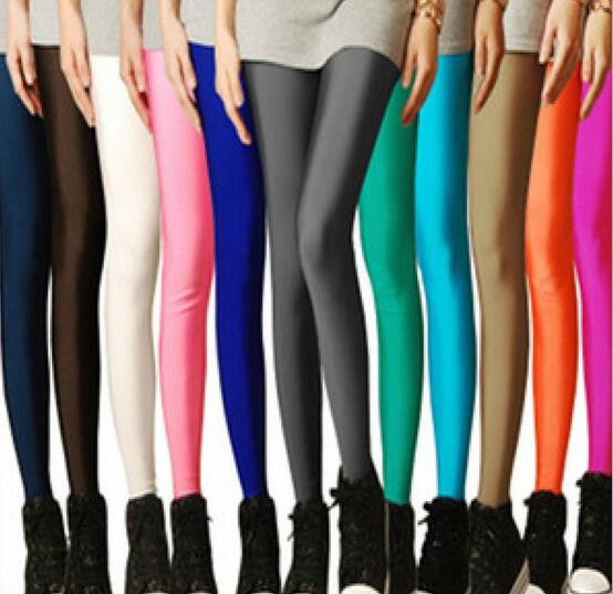 Neon Leggings Plus Size
