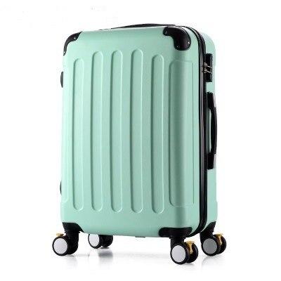 26 PULGADAS 2022242628 # Su equipaje van proceso ABS chasis bordo maleta con ruedas universales caja de la barra de bloqueo # EC ENVÍO GRATIS