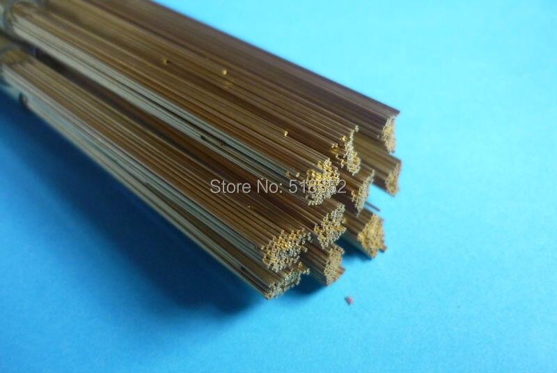 இ2.3mmx400mm Single Hole Ziyang Brass Electrode Tube for EDM ...