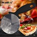 Пищевой резак для пиццы WALFOS  нержавеющая сталь  круглая форма  колеса для пиццы  ножи для тортов  хлеба  круглый нож  инструменты для пиццы