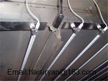 Однотрубный Инфракрасный Кварцевый нагревательный элемент 2500 Вт