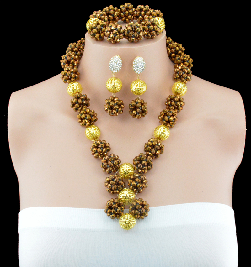 Beautiful Nigerian Latest Bead Necklace Photos - Jewelry ...