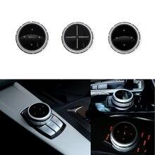 IDriver Multimedia Bottoni Della Copertura per BMW 1 2 3 4 5 7 Serie X1 X3 X5 X6 F30 E90 E91 f10 F18 F11 F15 F16 F25 E60 E61 F07 E70 71