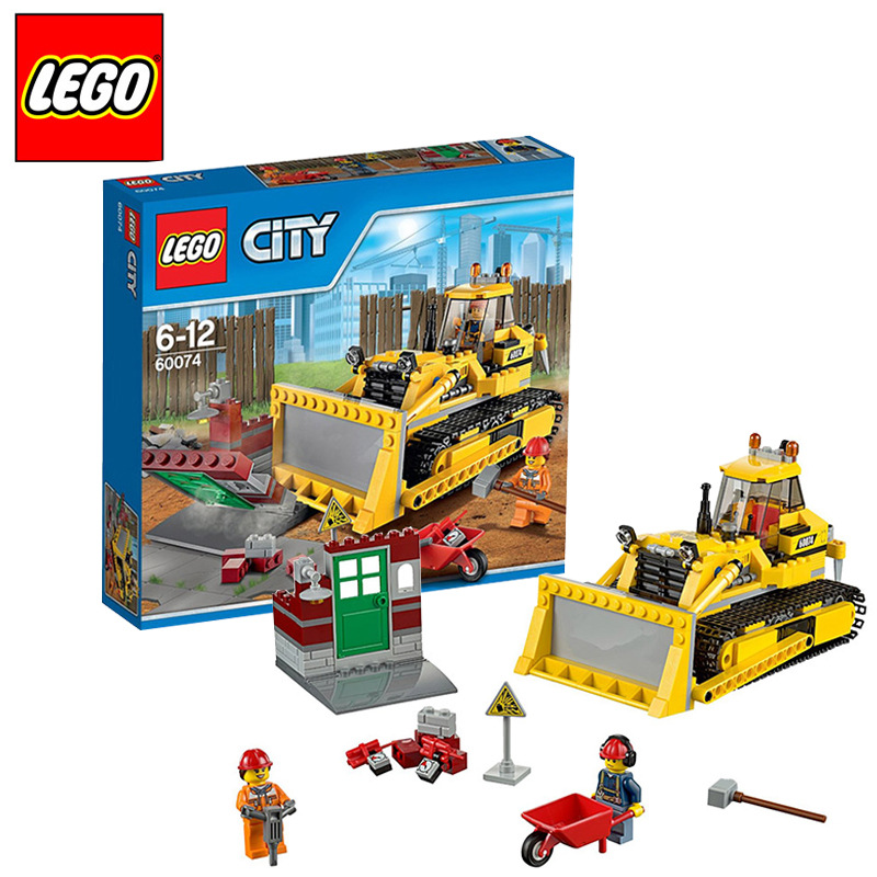 CITY Series of City Engineering 60074 Children Toy city of glass