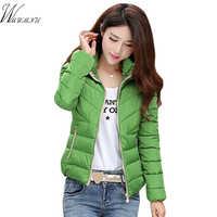 Feminino elegante inverno quente casaco com capuz grosso jaqueta 2018 casual curto jaqueta feminina inverno e plus size 3xl