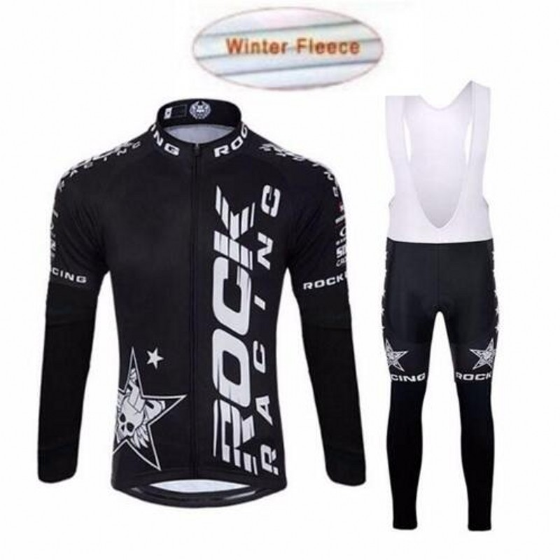 Wool thermal long sleeve cycling jerseys Roupa Ciclismo bike clothes dry  fast bike cycle dress 2adb480b7