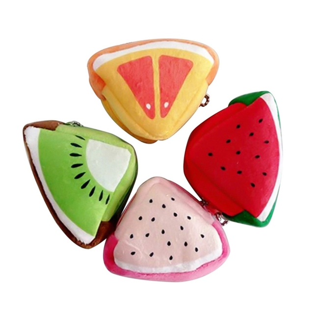2018 Cute Fruit Plush Coin Purse Women Female Bag Change Purse Moneybag Wallet Gift Small Coin Purse For Girls Portfel Damski
