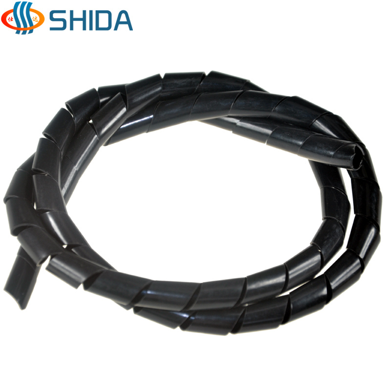 New 2014 free shipping 12mm * 20m length Spiral Cable Wire Tidy Wrap ...