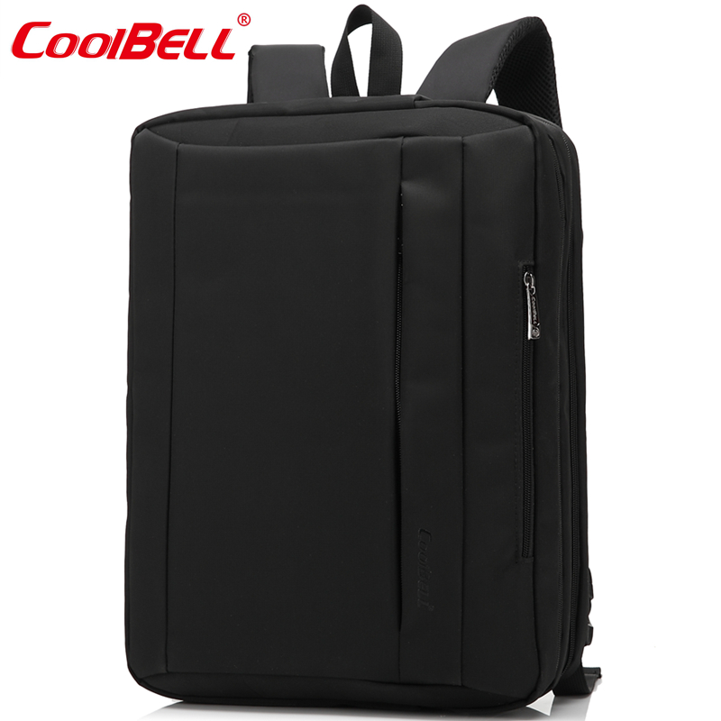 CoolBell Waterproof Laptop Bag15 6 17 3 Multifunctional Luggage belt design Laptop Backpack Shoulder Bag Notebook