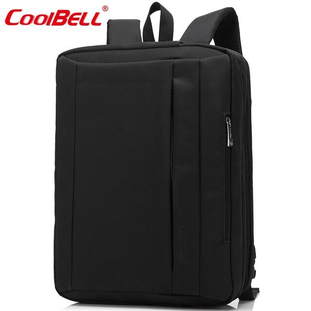 """CoolBell sac à dos étanche pour ordinateur portable Bag15.6 17.3 """"multifonctionnel sac à dos pour ordinateur portable sac à bandoulière porte-documents pour ordinateur portable"""