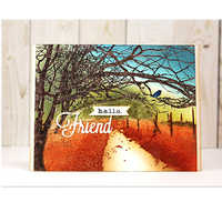Friends Alphabet Metal Cutting Die DIY Scrapbooking Template Embossing Stencil For Card Album Photo Making Decoration