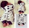 Bebé recién nacido Niños Niñas Algodón Mameluco Playsuit Trajes Pijama 0-24 M
