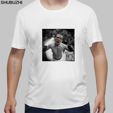 New Arrival Nate Diaz Printed Summer Short Sleeve T-Shirt O-Neck cotton Fashion Top Casual Tees T-Shirt euro size(China)