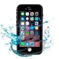2017 novo híbrido 360 vida ip65 grau de proteção de corpo inteiro à prova d' água à prova de choque à prova de sujeira capa case para iphone 6/6 s 4.7 polegadas