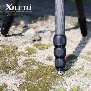 Image 5 - Trípode de acero inoxidable antideslizante XILETU XDS 3W de 3/8 pulgadas para Manfrotto Gitzo RRS SIRUI BENRO, 3 piezas