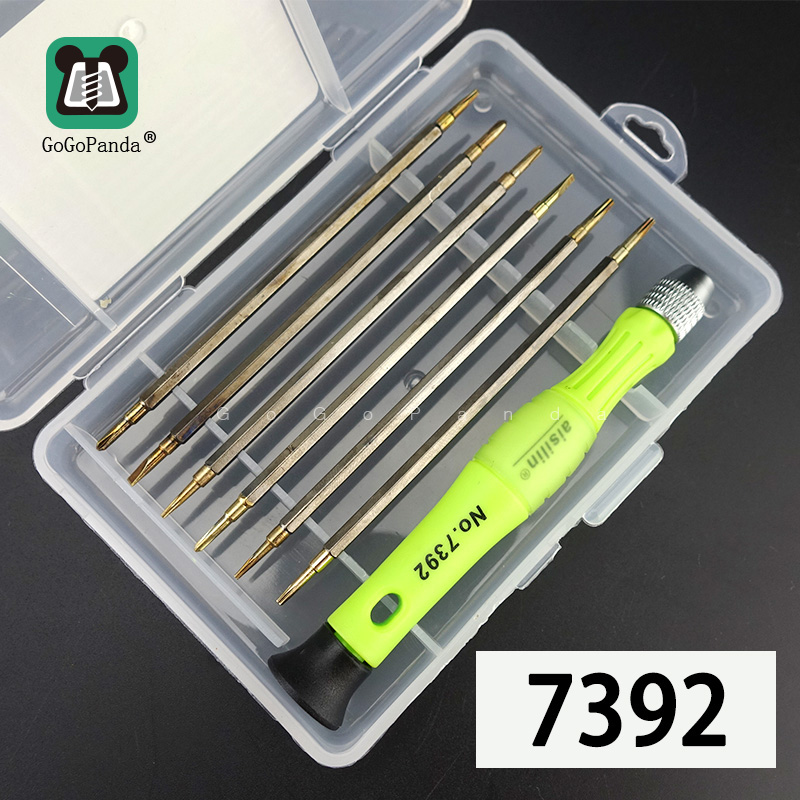 13 IN 1 Magnetic Screwdriver Set Precision Screw Driver Maintenance Tools Special 0.8 Star For Phone Clock Watch Repair 7392