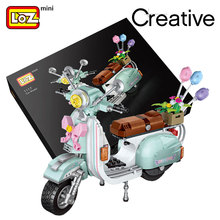 LOZ Mini Blocks Surf Duck motorcycle Transportation Travel Car Model Educational Toys for Children splice Building block Gifts