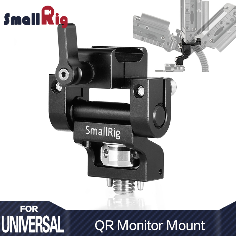 SmallRig DSLR Camera Rig Monitor Mount with Nato Clamp and Arri Locating Pins 2256