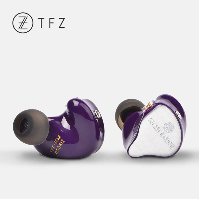 TFZ SECRET GARDEN HiFi HD Dynamic Driver In-ear earphone with 2Pin/ 0.78mm Detachable IEM Rich Bass 4