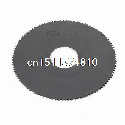 27mm Arbor Hole Dia. 1.2mm Thick 108 Teeth HSS Circular Slitting Saw  цены