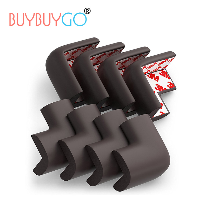 8Pcs Baby Safety Products Corner Protection Furniture Table Desk Corner Guards for Kids Children Corner Foam Bumper Collision