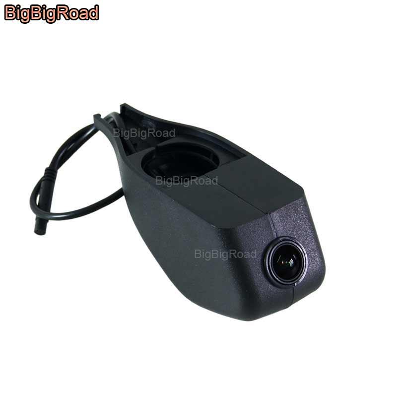 все цены на BigBigRoad For Volkswagen Amarok Lamando Lavida Bora Beetle Golf Magotan Car wifi DVR Video Recorder Dash Cam Car black box