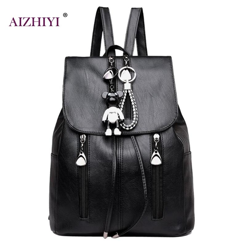 Women PU Leather Backpacks Travel Daypacks Fashion Drawstring School Bags for Teenage Girls Shoulder Bag Female Rucksacks forudesigns fashion women drawstring bags william morris print mini string rucksacks for female reusable storage backpacks bolsa