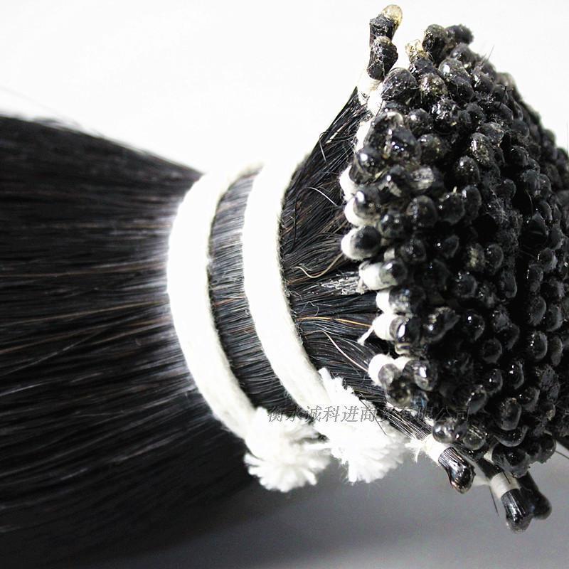 500 g black Horse Hair Horse Tail Hair Violin Bow Hair 80 85 cm