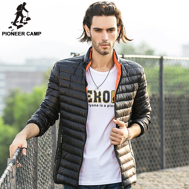 Aliexpress.com : Buy Pioneer Camp Winter jacket Mens 90% White ...