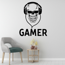Fun Gamer Wall Sticker Home Decoration Accessories Kids Room Nature Decor Background Art Decal