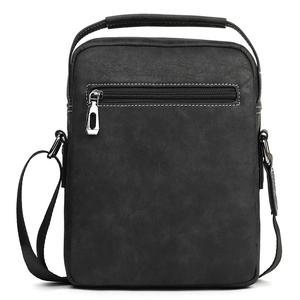 Image 2 - VICUNA POLO Vintage Frosted Leather Men Crossbody Bag With Handle Durable Fashion Business Man Bag Sling Shoulder Bags Handbag