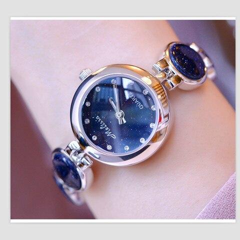 Marca de Relógios de Moda Pulseira de Relógio Pulseira de Quartzo de Japão Melissa Mulheres Jóias Delicado Bonito Mini Starry Night Star Montre Femme