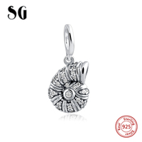 2017 New Style Doreen Beads Spacer Beads Snail Shell Antique Silver