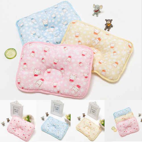 Для новорожденных детская подушка позиционер Предотвращение плоской головкой Анти ролл