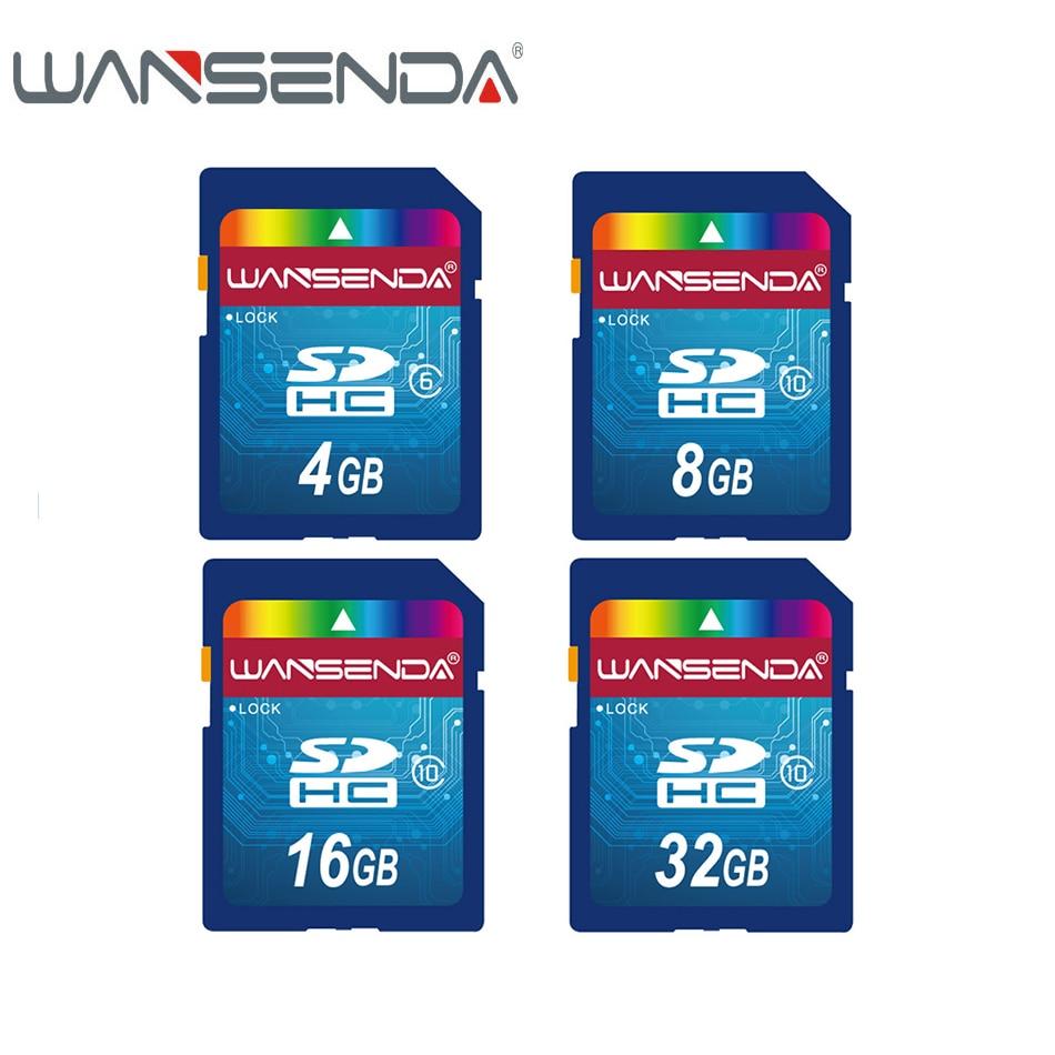 WANSENDA Class 10 Micro SD Card 32GB 16GB 8GB Memory 4GB Class 6 Flash Card Memory SDHC Microsd For Smartphone/Tablet/Camera