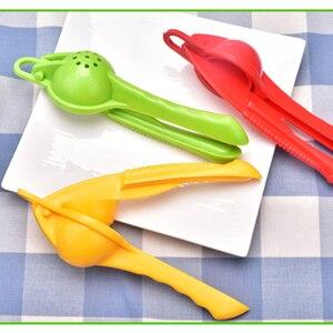 Image 5 - Limone arancia citrus spremiagrumi da cucina accessori per la casa multi funzionale mini portatile frullatore da cucina strumento premere maniglia manuale