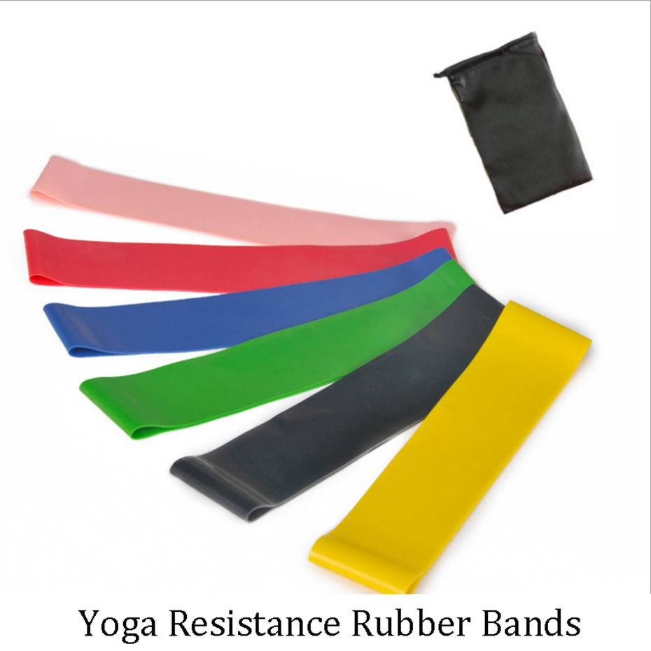 YINGTOUMAN Yoga Resistance Rubber Bands Indoor Outdoor Fitness Equipment 500*50*0.35MM Sport Training Workout Elastic Bands
