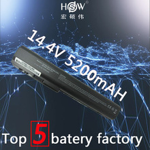 5200MAH 8cells laptop battery forHP Pavilion DV7 DV7-1000 DV7-3000,Pavilion DV8 DV8-1000,FOR HP HDX18 HDX18-1000 batteria akku