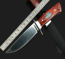 Free shipping Camping knife Outdoor survival tool hunting knife sharpknife collection knife Pure manual