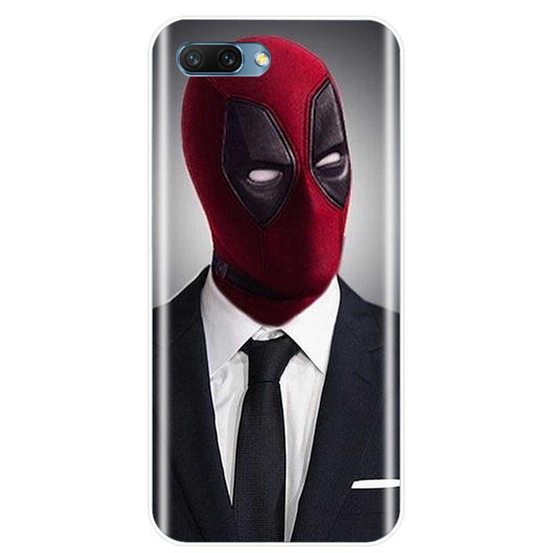 أعجوبة الفعل بركة Deadpool غطاء لينة سيليكون TPU الهاتف حافظة لهاتف huawei زميله 7 8 9 10 20 الموالية الشرف 8 9 10 V10 NOTE10 لايت