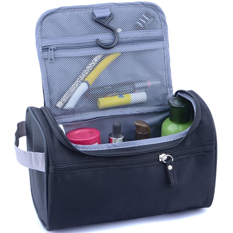 New Women And Men Large Waterproof Makeup Bag Nylon Travel