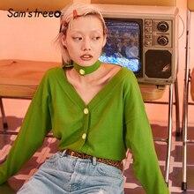 חולצות סוודרים ירוק אחת