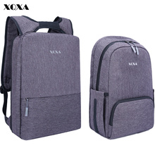 XQXA Light Slim Backpack Men Lightweight 13 14 15.6 Inch Laptop Notebook Backpacks Women Waterproof Thin Business Urban