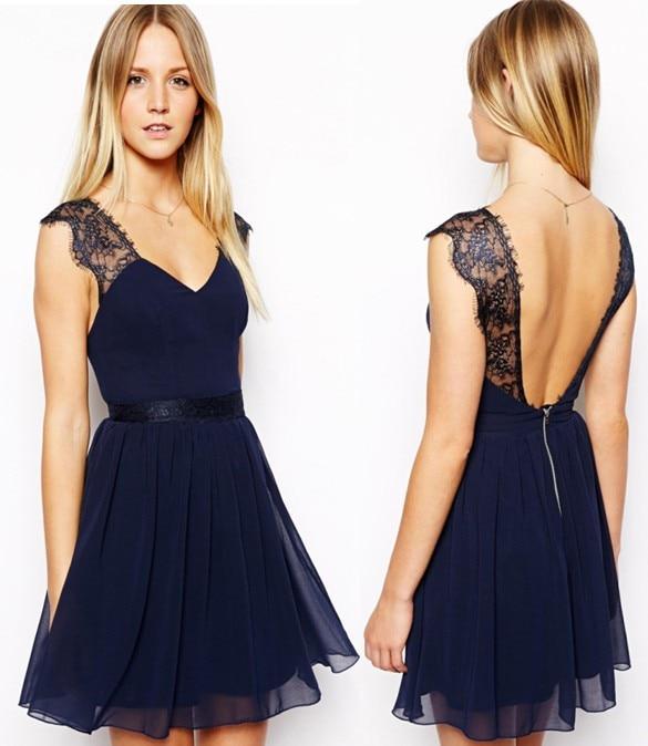 Popular Cheap Navy Blue Dresses-Buy Cheap Cheap Navy Blue Dresses ...