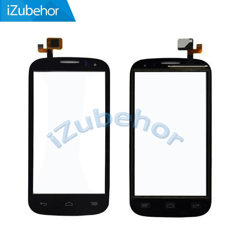 100% warranty black Touch Screen Digitizer For <font><b>Alcatel</b></font> One Touch C5 5036 <font><b>5036D</b></font> OT5036 OT-5036 by free shipping; HQ image